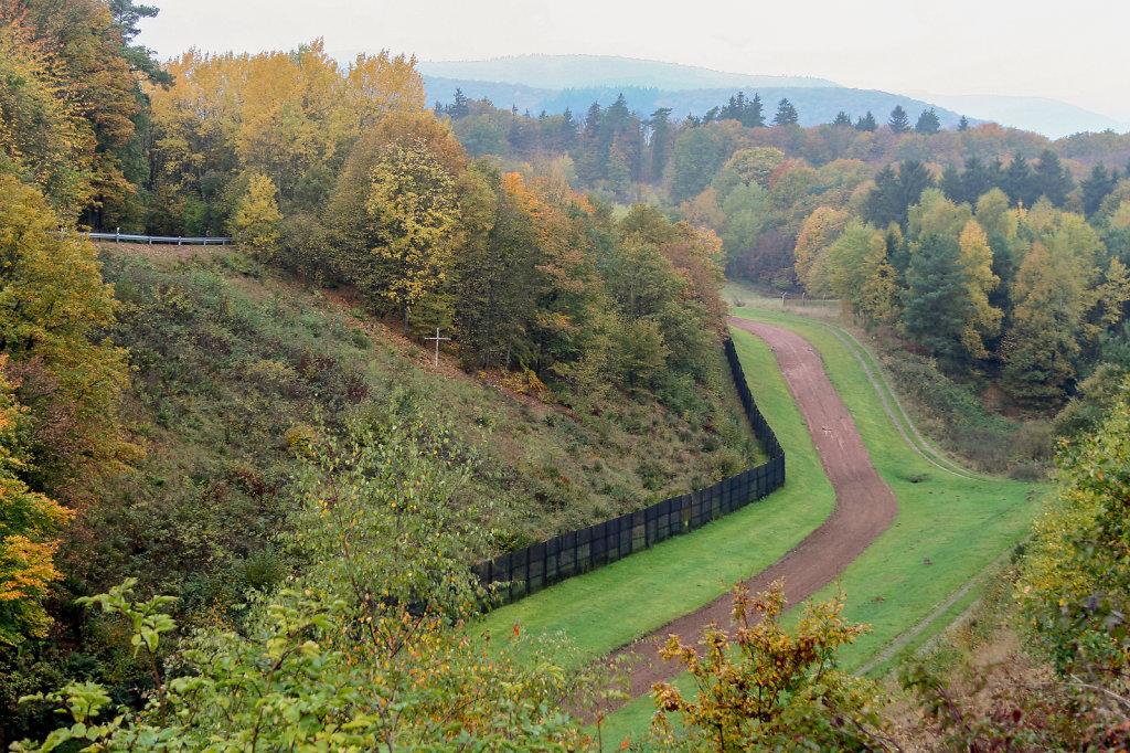 Erhaltene innerdeutsche Grenzanlagen bei Bad Sooden-Allendorf