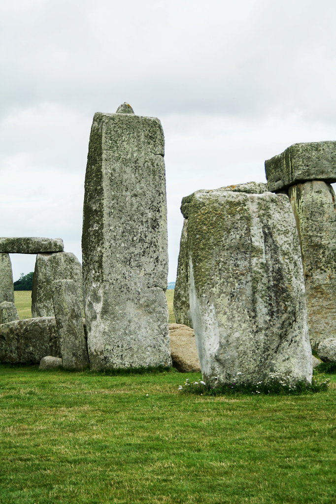 Stonehenge, Tragstein mit Zapfen