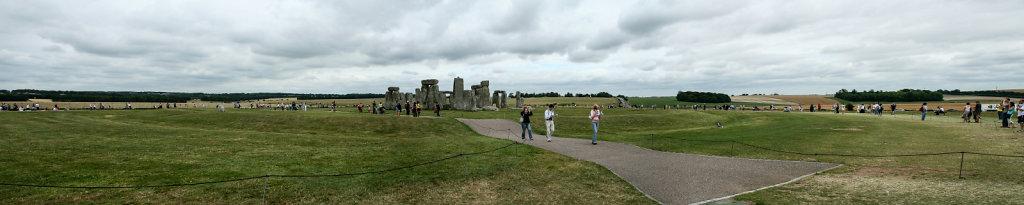 Tourismus und Landschaft in Stonehenge