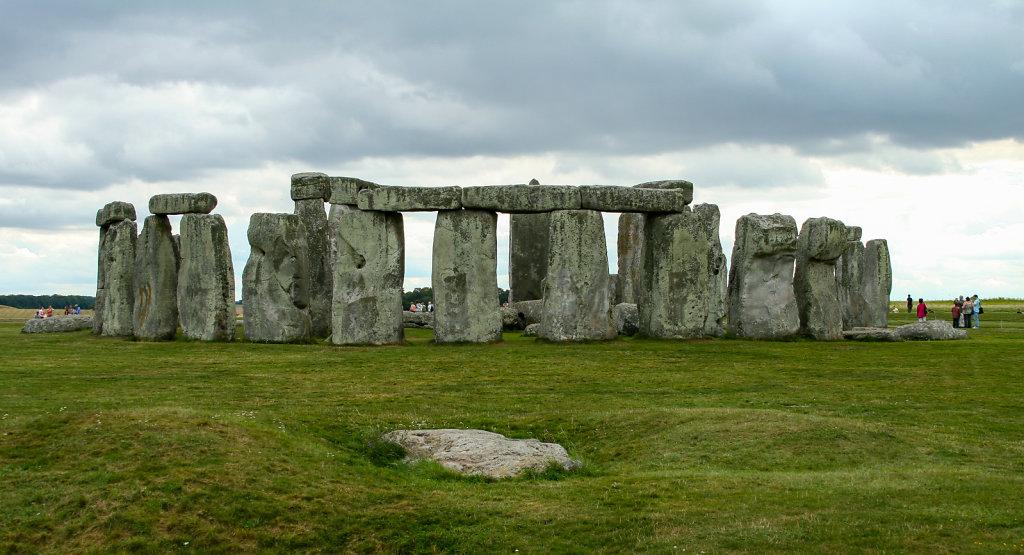 Stonehenge im  Sommer 2006
